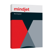 Mindjet MindManager Enterprise Perpetual License, incl. Win 2018, Mac 10 and MM server editor license Band 50-99