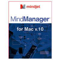 Mindjet MindManager for MAC v10 (1 Yr Subscription)(Single User)