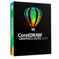 CorelDRAW Graphics Suite 2019 Enterprise Upgrade License - includes 1 year CorelSure Maintenance (251+)