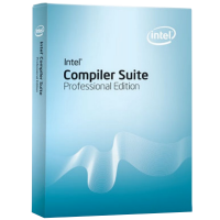 Intel Compiler Suite Professional Edition for Windows (ESD). Commercial License